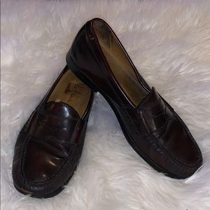 Cole Haan Nike Air penny loafers dress shoes 9.5